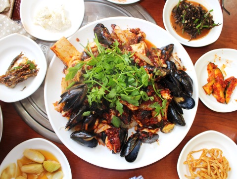 food spot jeju island sugarsheet travel food best seafood