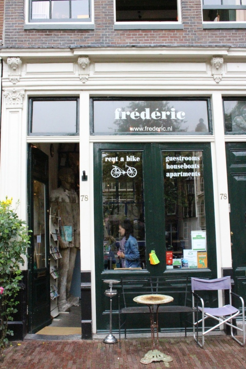 frederic amsterdam bike rent