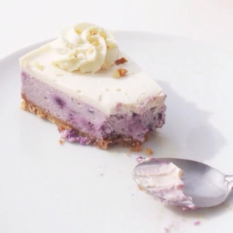 cheesecake blueberry myrtille rachels paris le marais the broken arm best paris french france travel breakfast brunch