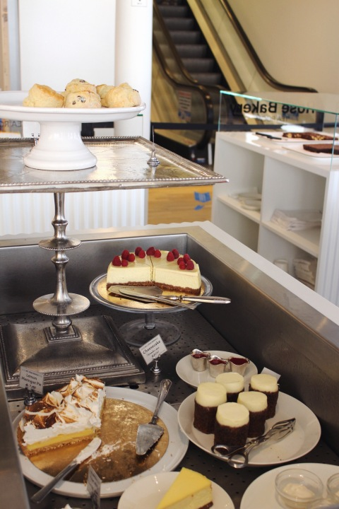 rose bakery bon marché carrot cake cakes paris