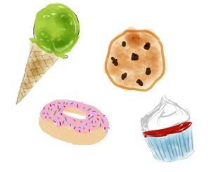 ice cream cookie cheesecake new york sugarsheet cupcake