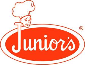 junior's logo cheesecake new york sugarsheet travel