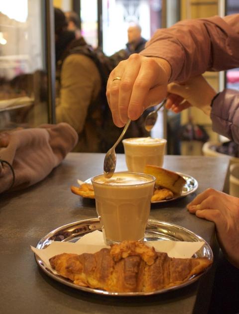 Charli brussels bread croissant sugarsheet travel belgium