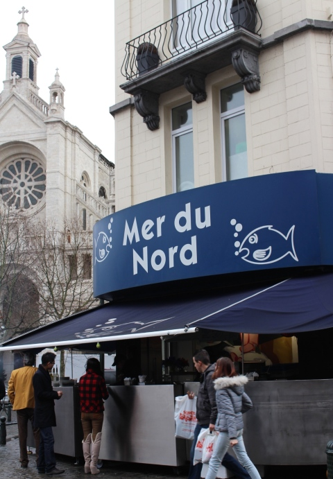 Brussels noordzee catherine sugarsheet travel food fishbar