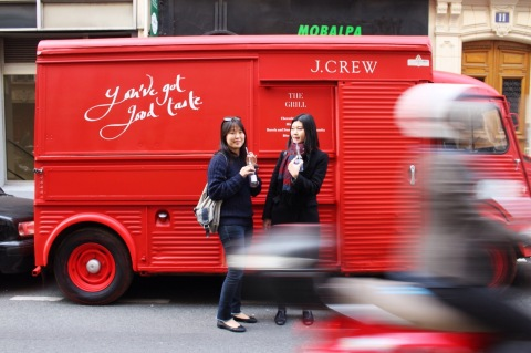 jcrew paris inauguration le marais shop new york jenna lyons