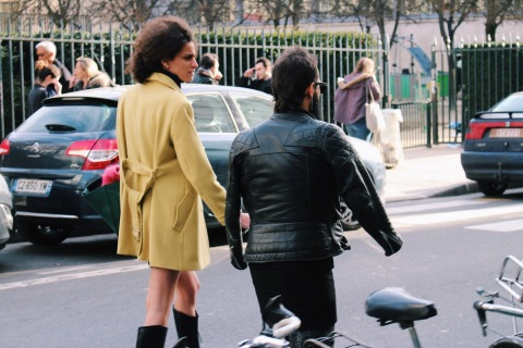 le marais streetstyle looks paris fashion week pfw