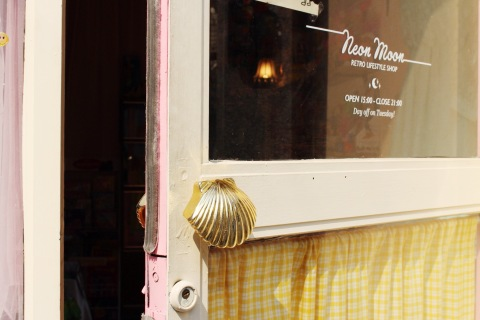 shell seoul south korea travel sugarsheet toy vintage shop door architecture