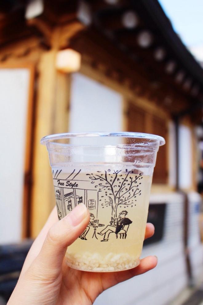 seoul dessert food travel south korea sugarsheet drink rice