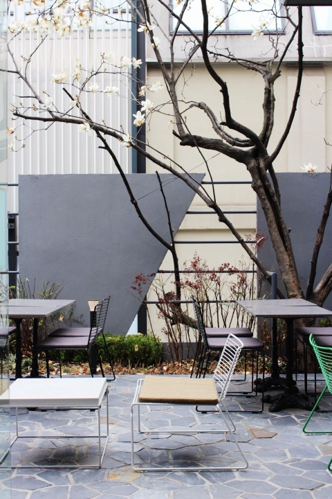 osulloc south korea matcha green tea garosu gil tea house travel innisfree
