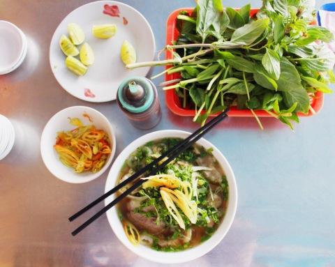 saigon ho chi minh travel city guide sugarsheet vietnam  pho rice noodles vegan glutenfree