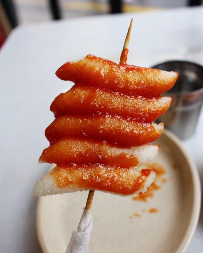 seoul south korea best dish food tteokbooki spicy hot korean