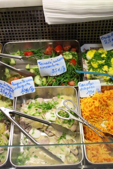 Chez Aline Sugarsheet paris sandwich small budget food travel paris french