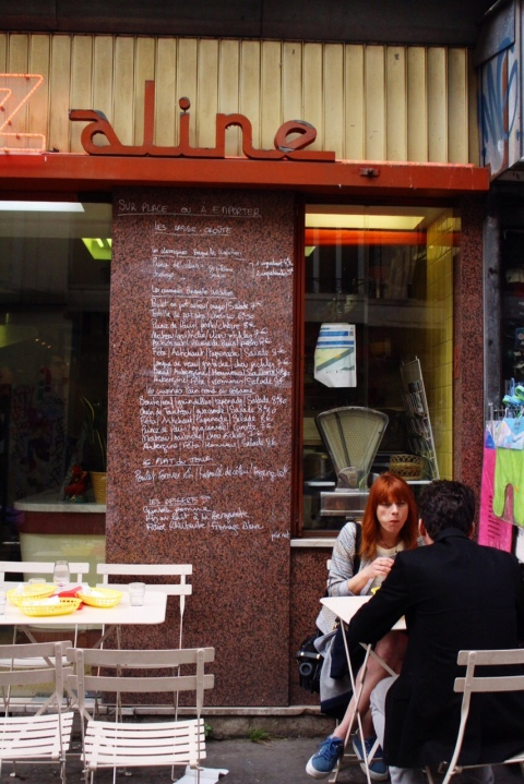 Chez Aline Sugarsheet travel food sandwich small budget paris bastille