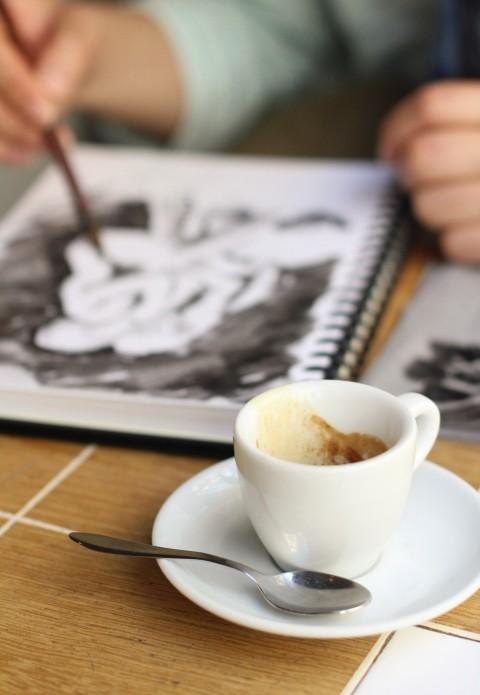 Coutume cafe Paris Best espresso coffee shop Bon marche Sugarsheet Latte art