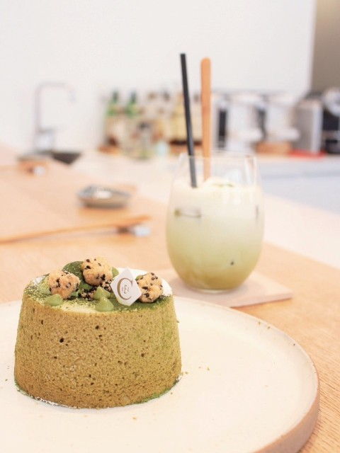 ciel patisserie paris angel chiffon cake matcha monge japanese travel