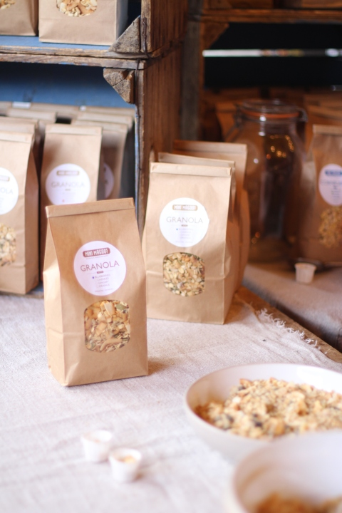 MIni Magoo Granola borough market best London Sugarsheet Travel