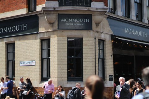 Monmouth Coffee shop London Borough market Sugarsheet Travel