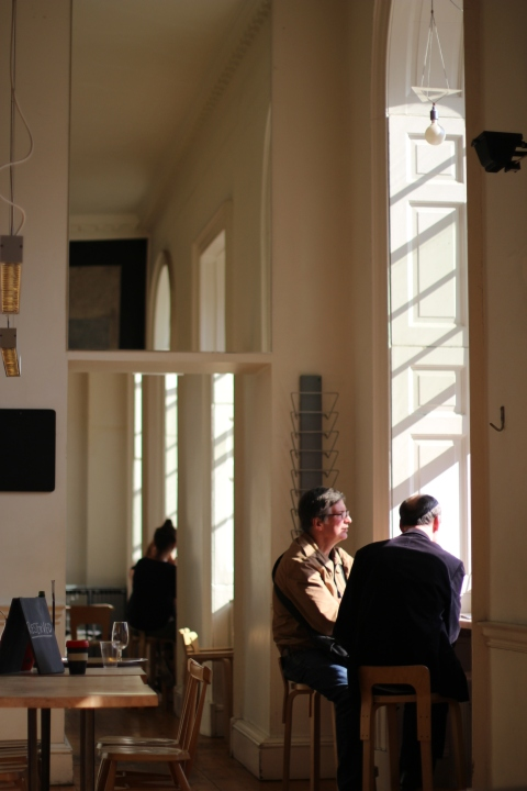 Sugarsheet fernandez wells Somerset House London coffee best