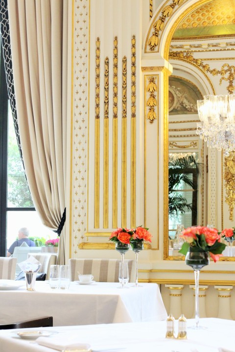 peninsula paris afternoon tea interior gold architecture lobby sugarsheet
