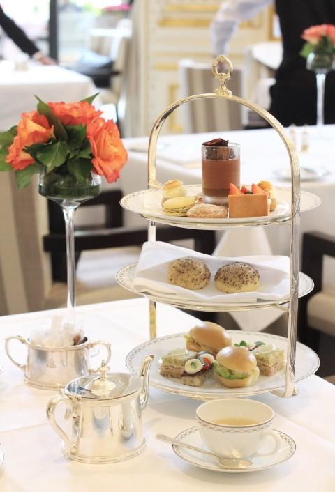 Peninsula paris afternoon tea sugarsheet Julien Alvarez best
