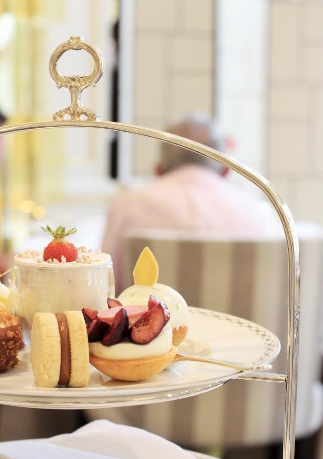 Peninsula Paris Afternoon tea pastries Sugarsheet Julien Alvarez best