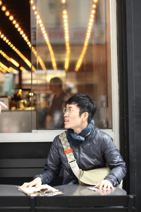 Jeon Seongwon PNY Paris Street style Best Burger Vegan Gluten Free