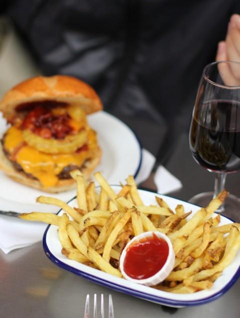 PNY Paris New York burger fries best Sugarsheet Gluten Free Vegan Le Fooding