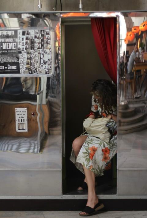 Palais de Tokyo Paris Fotoautomat Vintage photography pictures Sugarsheet Museum Eiffel Tower