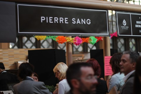 Carrea du Temple Pierre Sang korean Street Food temple Sugarsheet Le marais