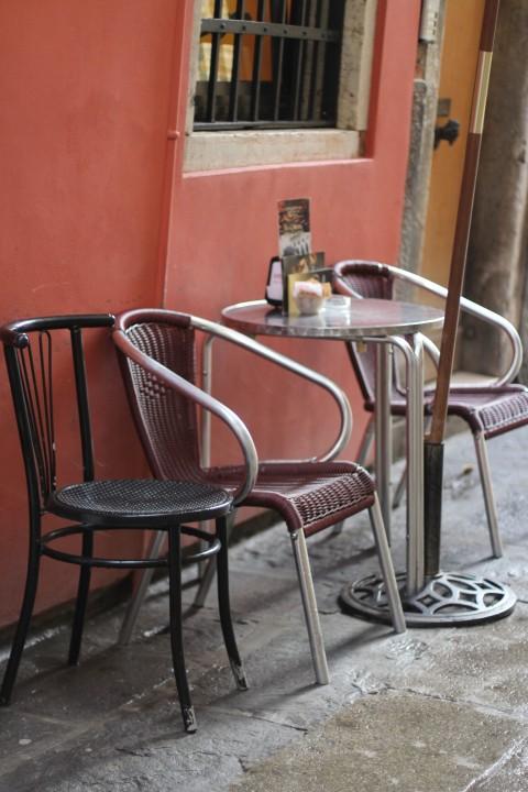 Caffe del doge terrass venice italy coffee espresso best calle cinque san paolo sugarsheet