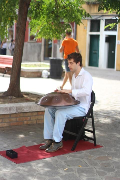 Murano Venice Musician Street Sugarsheet Island