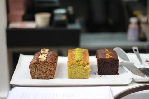 Rose Bakery sugarsheet cake la maison rouge bastille vegan