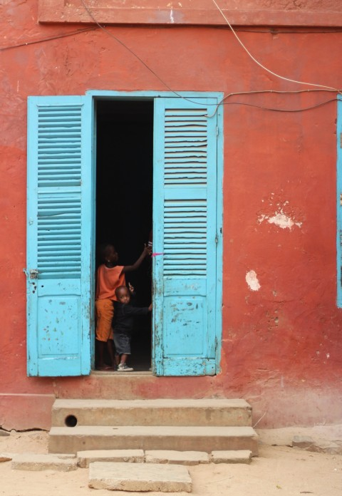 Dakar Senegal Goree island Houses colorful Sugarsheet travel