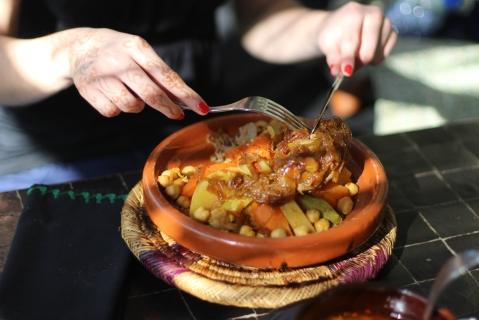 Le Jardin Marrakech Maroc morocco Sugarsheet tajine vegan