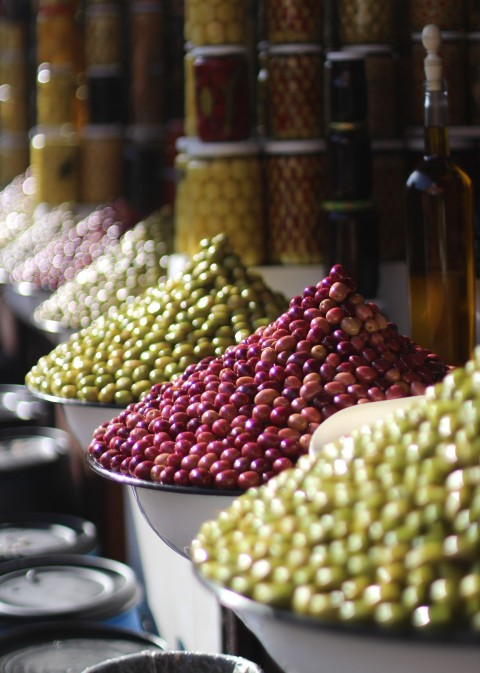 Marrakesh Sugarsheet Olive souk medina shopping morocco maroc
