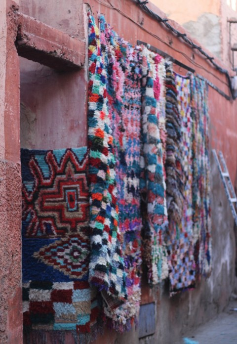 Marrakesh Sugarsheet Rugs morocco souk shopping