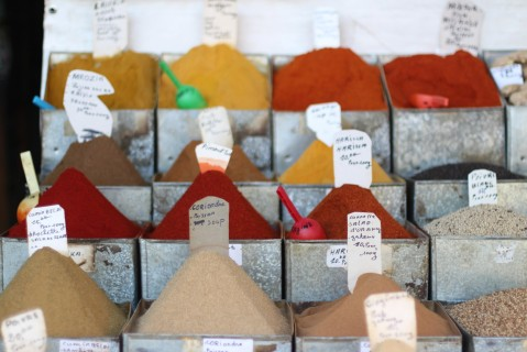 Marrakesh Sugarsheet Spices Souk place des epices maroc morocco food vegan