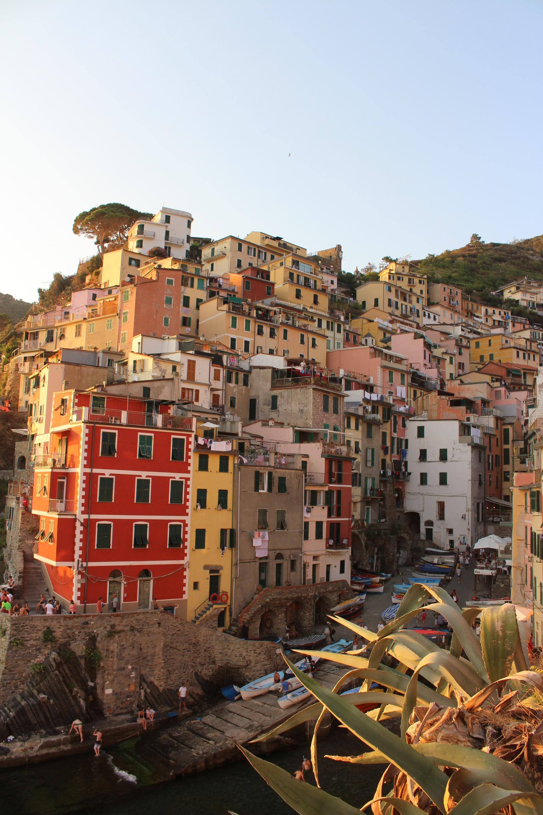 Sugarsheet-Riomaggiore-Cinque-Terre-Italy-Travel-Village-sunset